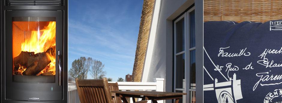 Balkon im Strandgut Reethus